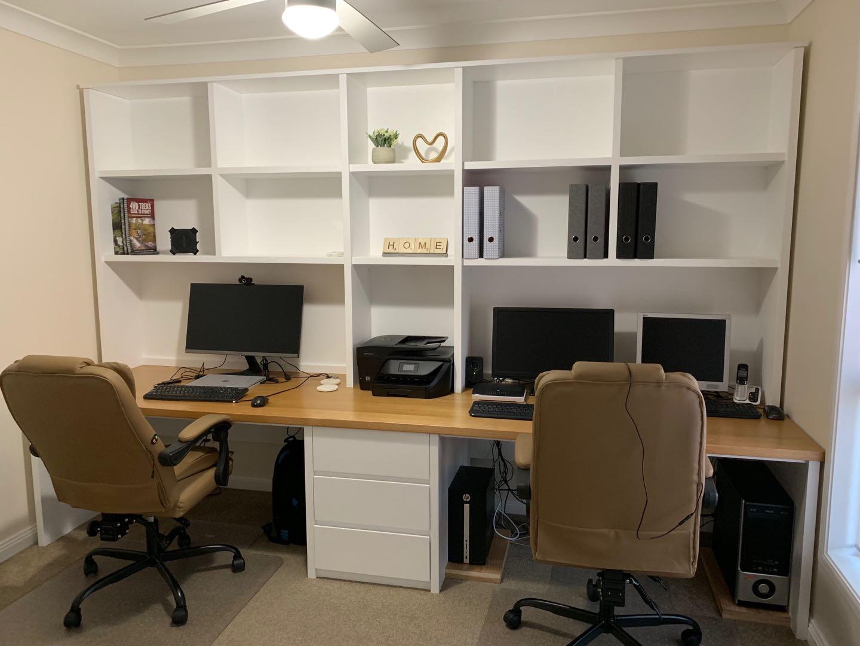 Custom Made Home Office Study Unit